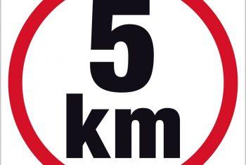 Para correr os 5 km
