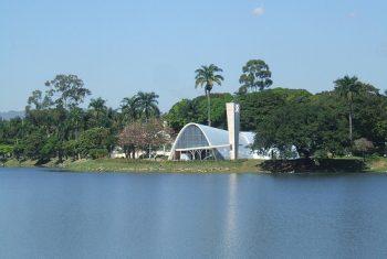 Lagoa da Pampulha é pista de corrida