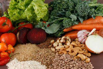 Alimentação saudável para uma vida longa