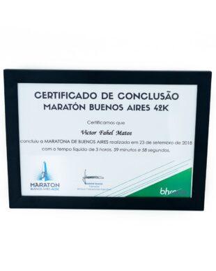Certificado BHRace