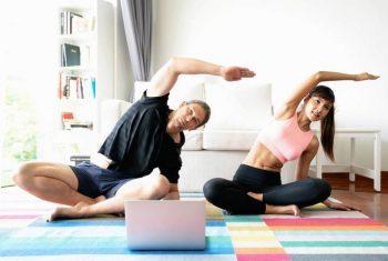 Conheça os exercícios que ajudam a manter sua saúde durante a quarentena