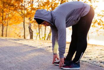 Sete mitos sobre corrida no frio.